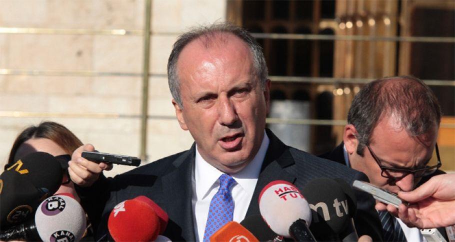 CHP, İnce'nin Cumhurbaşkanı adaylığını YSK'ya bildirdi