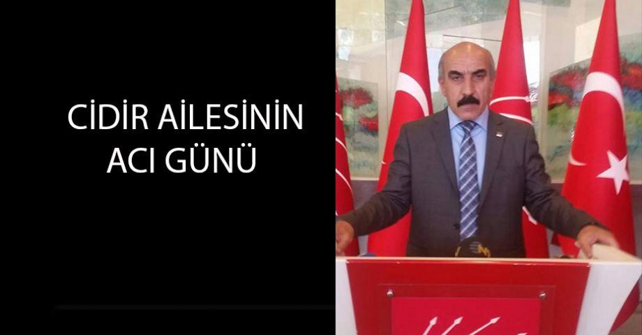 CHP Şanlıurfa İl Başkanı Cidir'in annesi vefat etti