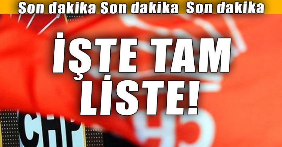 CHP Şanlıurfa Milletvekili Adayları belli oldu!