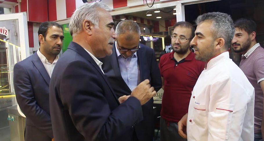 CHP Şanlıurfa'da seçim çalışmalarına devam ediyor