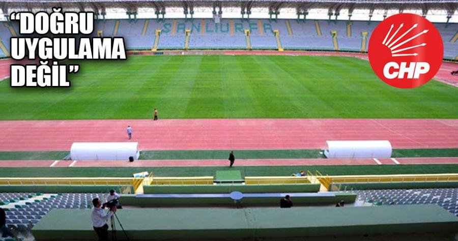 CHP'den stadyumlara isim önerisi