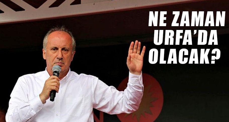 CHP'nin Cumhurbaşkanı Adayı İnce, Şanlıurfalılara mesaj yolladı