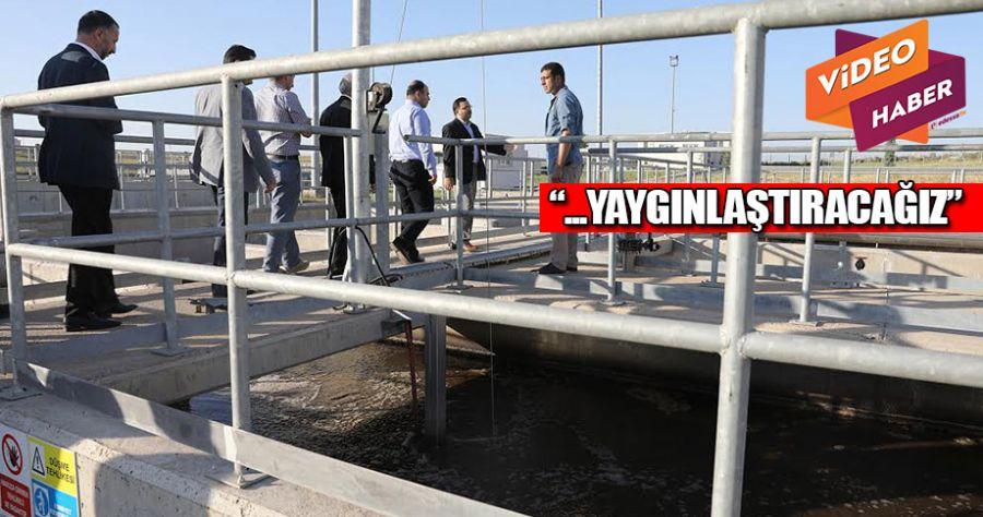 Çiftçi Siverek Atık Su Arıtma Tesisini inceledi