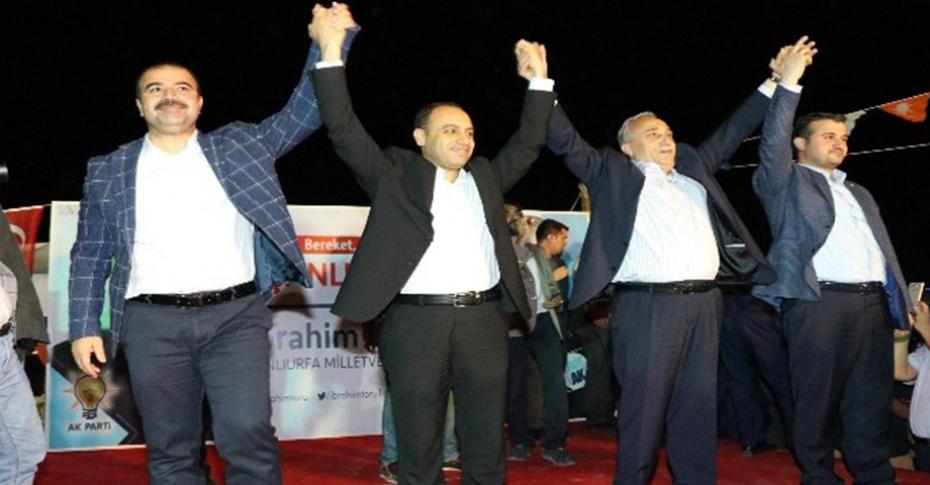 Çiftçi Viranşehir'de partililerle buluştu