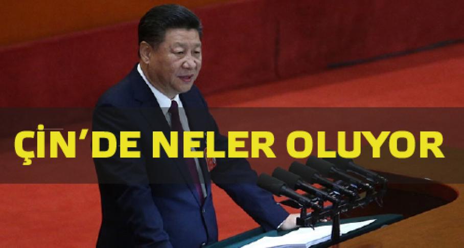 Çin'de neler oluyor?