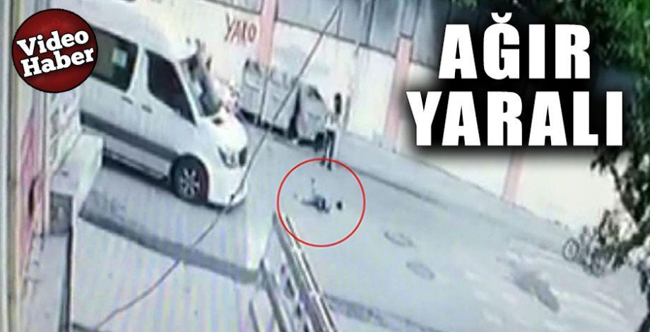 Çocuğa çarptı arkasına bile bakmadan kaçtı!