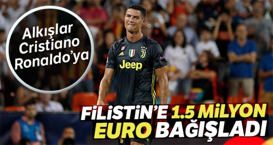Cristiano Ronaldo, Ramazan ayı nedeniyle Filistin'e 1.5 milyon euro bağışladı