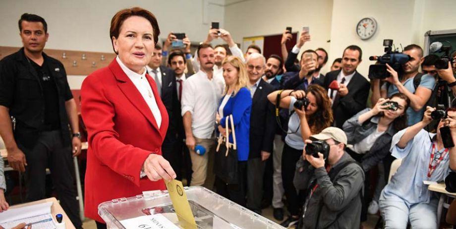 Cumhurbaşkanı Adayı Akşener oyunu kullandı