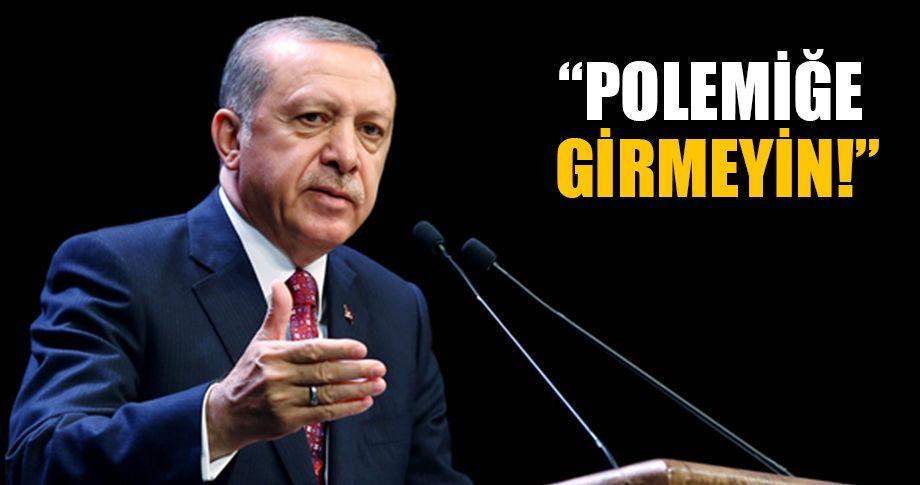 Cumhurbaşkanı Erdoğan, başkanları uyardı