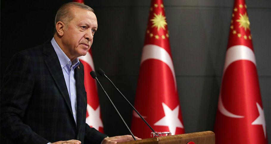 Cumhurbaşkanı Erdoğan: 'Filistin topraklarının peşkeş çekilmesine göz yummayacağız'