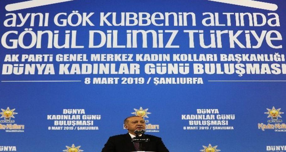 Cumhurbaşkanı Erdoğan Kadınlar Günü programına katıldı (videolu/güncellendi)