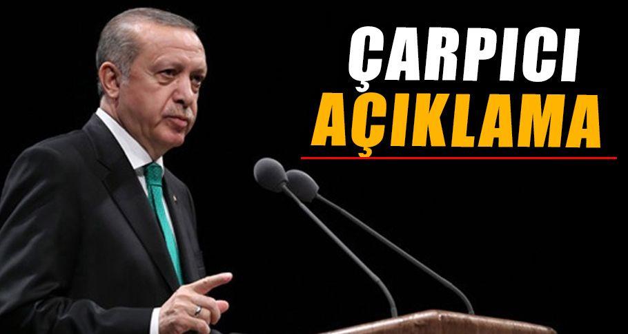 Cumhurbaşkanı Erdoğan, listeye girmeyen isimler hakkında konuştu!