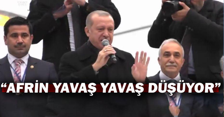 Cumhurbaşkanı Erdoğan Şanlıurfa'da açıkladı