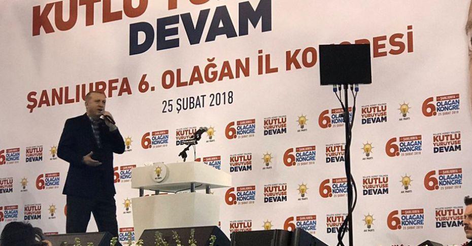 Cumhurbaşkanı Erdoğan Şanlıurfa'da halka hitap ediyor