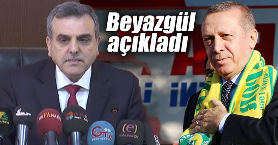 Cumhurbaşkanı Erdoğan Şanlıurfa'ya ne zaman gelecek?