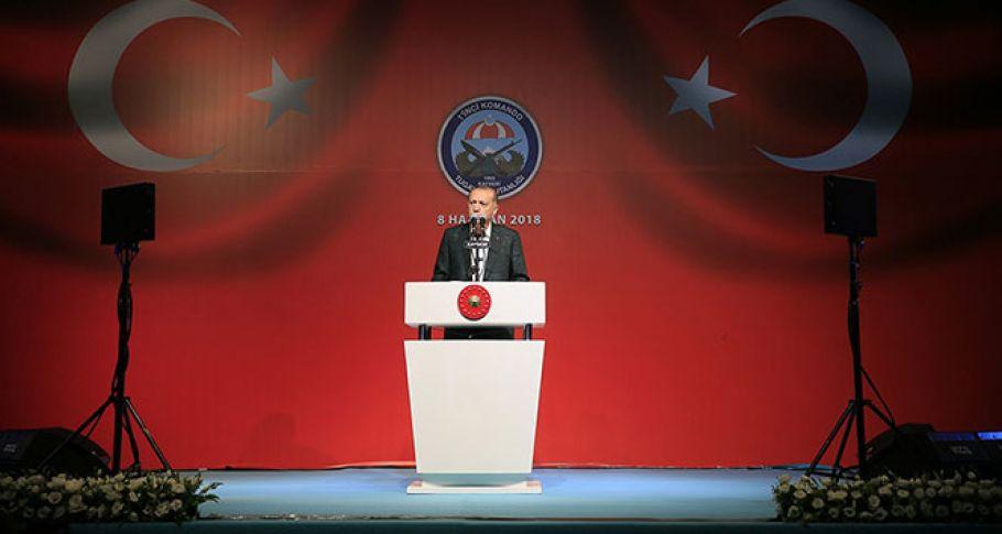 Cumhurbaşkanı Erdoğan'dan astsubaylara müjde