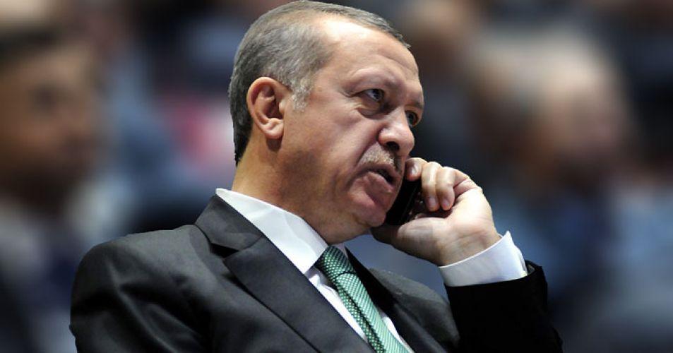 Cumhurbaşkanı Erdoğan'dan başsağlığı telefonu