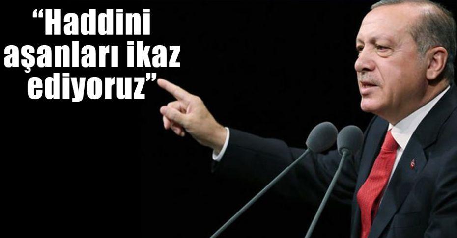 Cumhurbaşkanı Erdoğan'dan Kıbrıs ve Ege çıkışı!