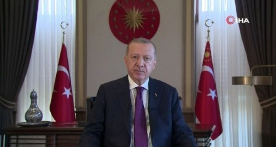 Cumhurbaşkanı Erdoğan'dan Kurban Bayramı mesajı (videolu)