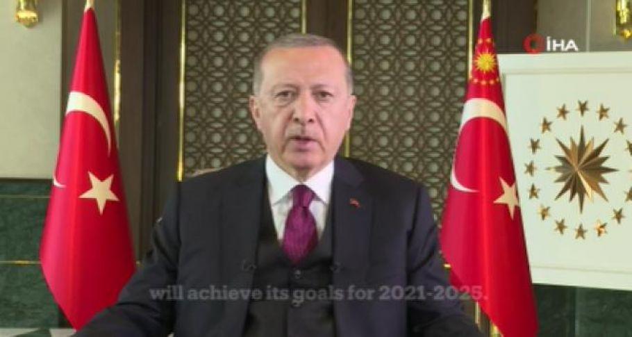 Cumhurbaşkanı Erdoğan'dan küresel aşı zirvesine mesaj !