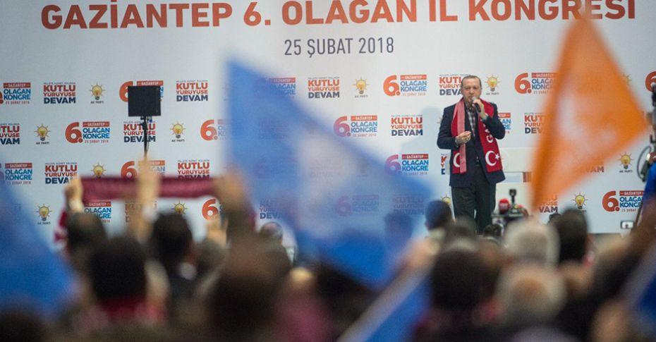 Cumhurbaşkanı Erdoğan'ın Gaziantep programı bitti
