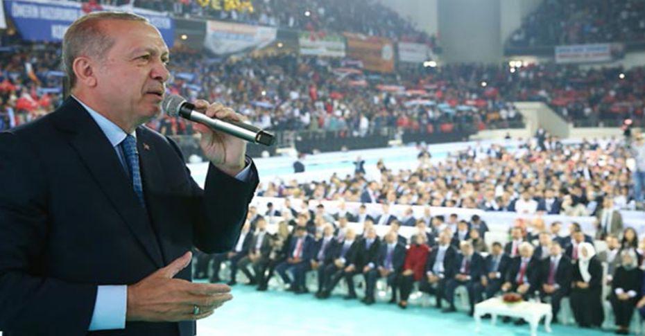 Cumhurbaşkanı Erdoğan'ın seçim şarkısı ilk kez çalındı