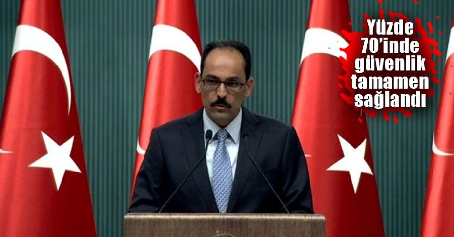 Cumhurbaşkanlığı Sözcüsü Kalın'dan Afrin açıklaması