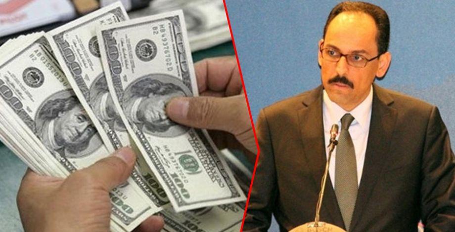 Cumhurbaşkanlığı Sözcüsü Kalın'dan 'dolar' açıklaması
