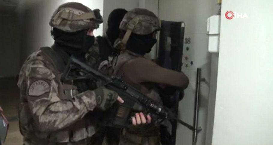 DEAŞ' a yönelik operasyonda : 14 gözaltı