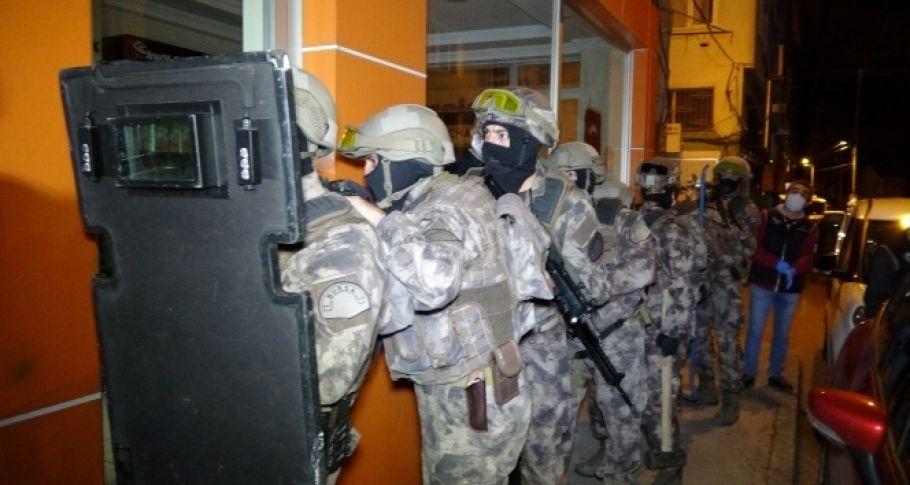 Dev operasyonda 10 tutuklama