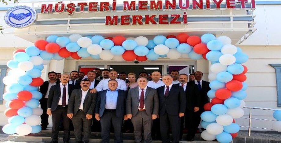 Dicle Elektrik Şanlıurfa'da Müşteri Memnuniyeti Merkezi açtı