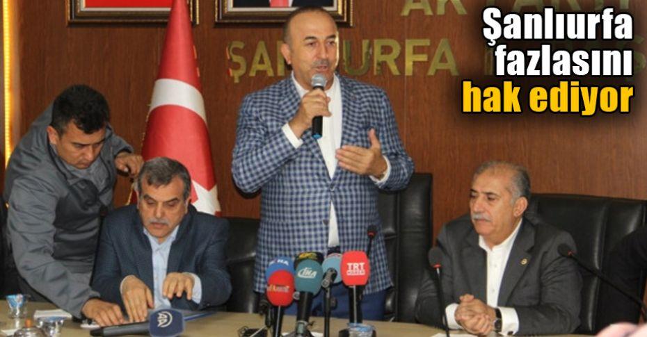 Dışişleri Bakanı Çavuşoğlu AK Parti İl Başkanlığını ziyaret etti
