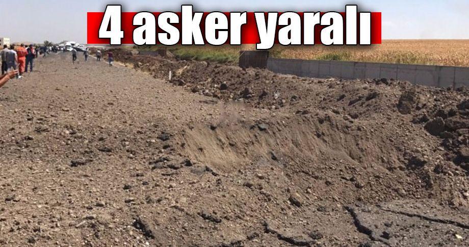 Diyarbakır'da askeri araca bombalı saldırı!