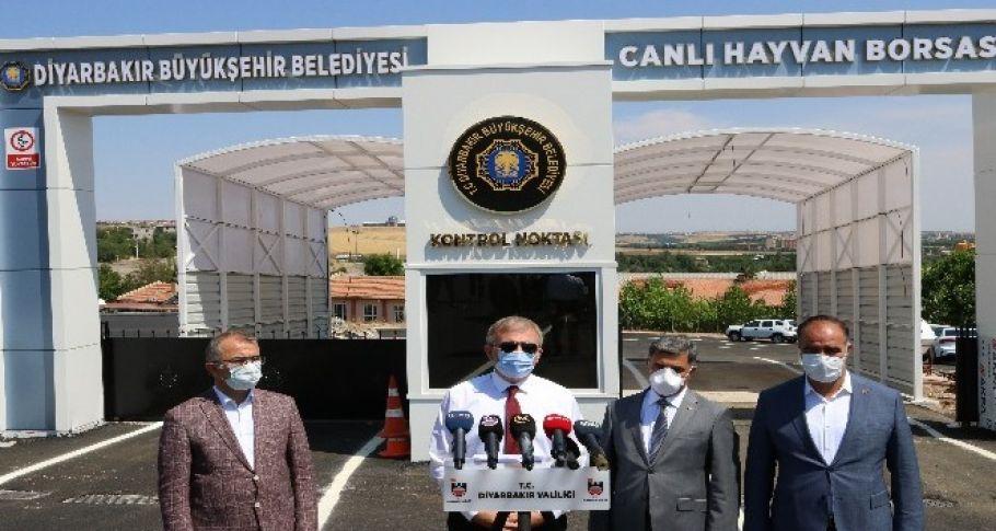 Diyarbakır'da Canlı Hayvan Borsası 6 Temmuz'da açılacak