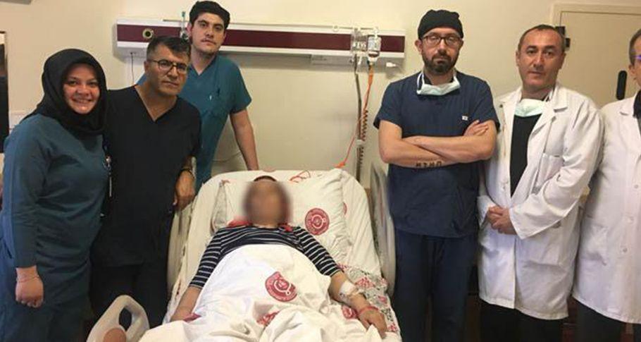 Diyarbakır'da hastalanan kadın şifayı Harran Tıp'ta buldu