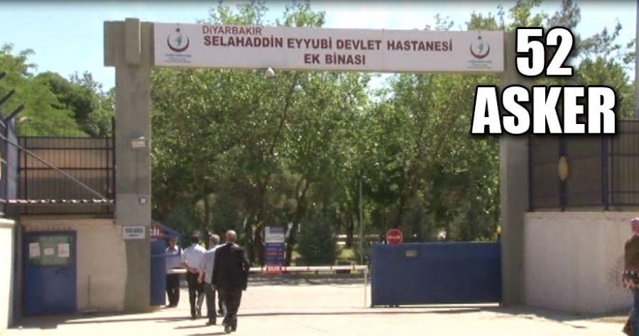 Diyarbakır'da zehirlenen askerlerin tedavisi sürüyor