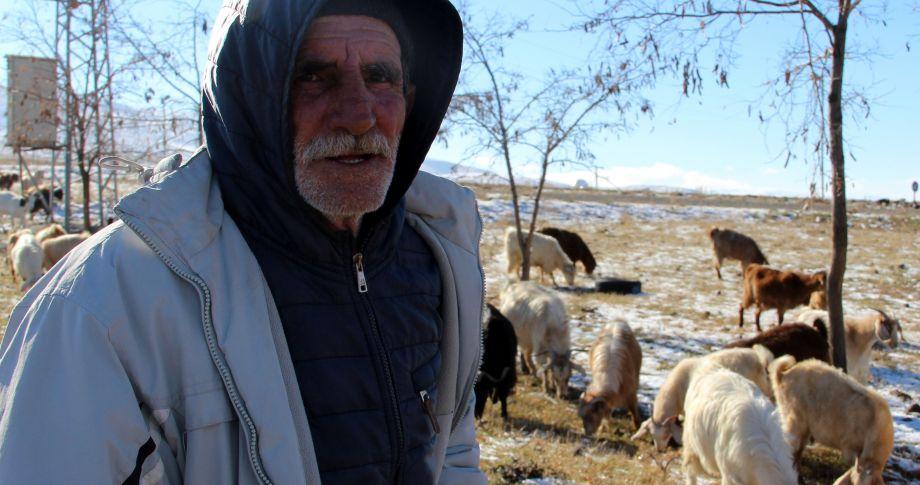 Doğu'da hayvancılıkla geçimini sağlayanların kış çilesi
