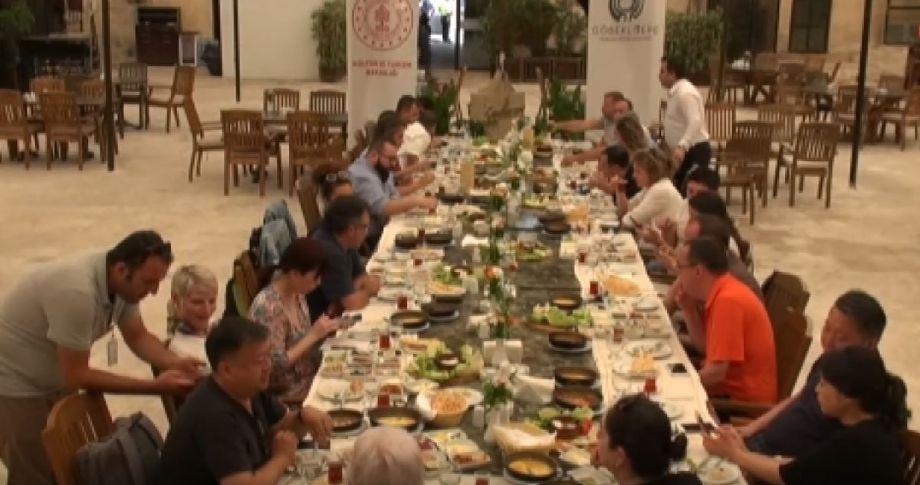 Dünya'nın en iyi şefleri ve gastronomi yazarları Şanlıurfa'da
