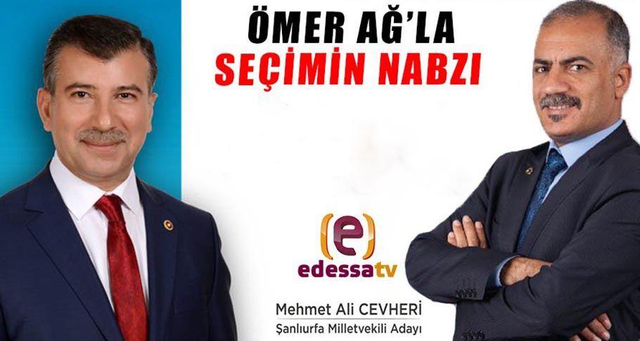 Edessa Tv Seçimin Nabzı M Ali Cevheri / 28.05.2018