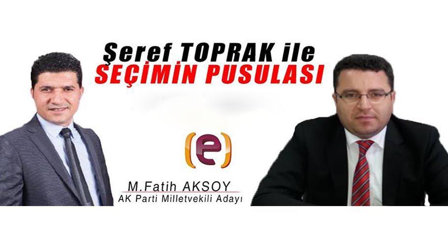 Edessa Tv Seçimin Pusulası Fatih Aksoy / 29.05.2018