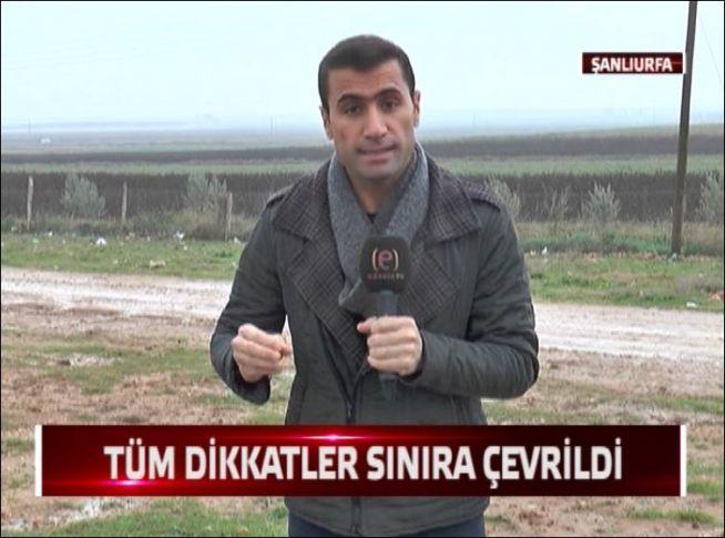 Edessa TV sınır hattında..