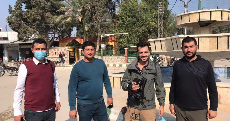 Edessa Tv Tel Abyad'da (videolu)