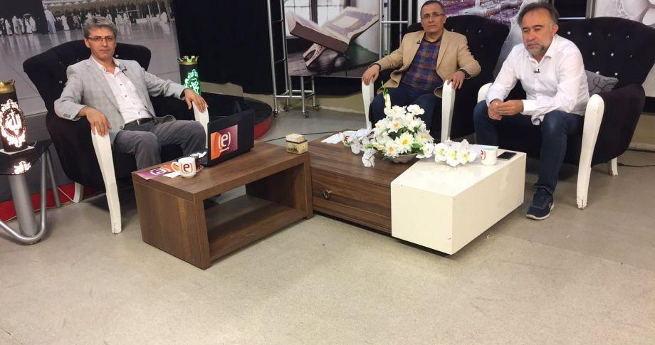 Edessa Tv'de Sahur Bereketi Programı'nın konuğu Cüneyt Yavuz (videolu)