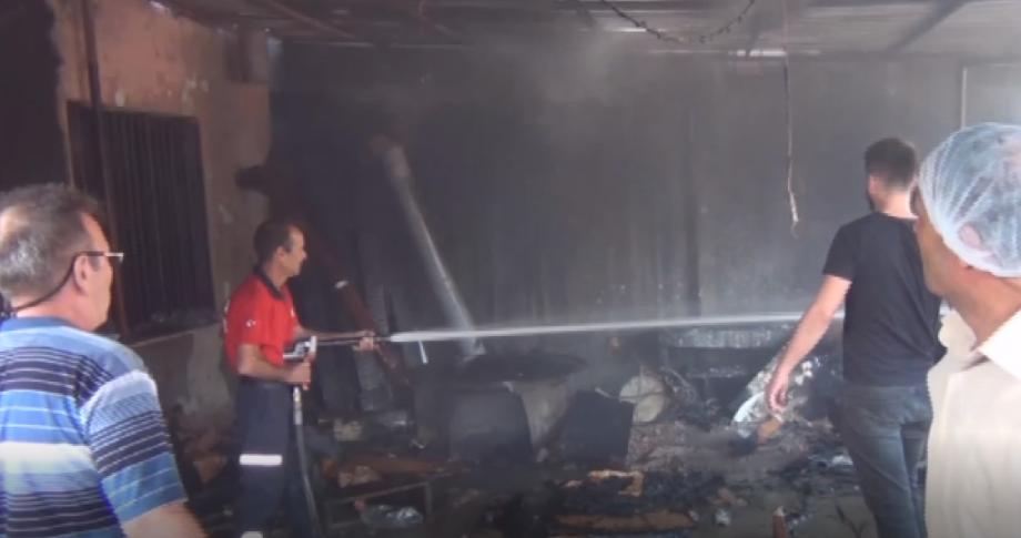 Ekmek Açarken Yangın Çıktı: 3 Kadın Dumandan Etkilendi