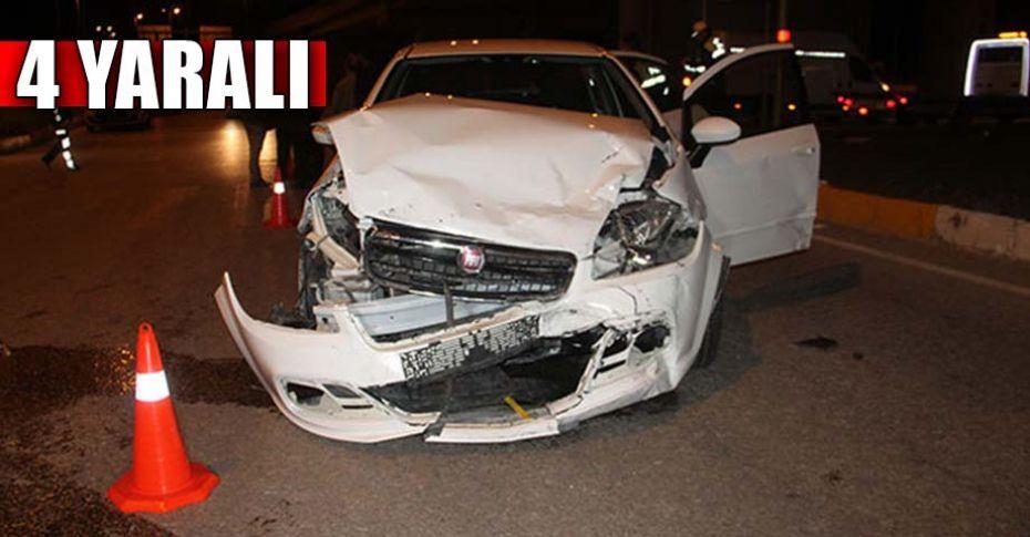 Elazığ'da trafik kazası!