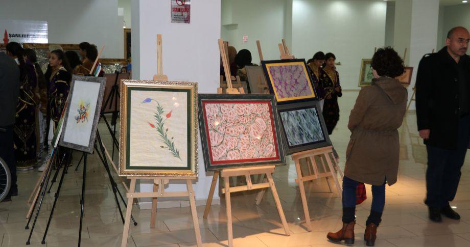 Emek ve Sanat Sergisi Açıldı