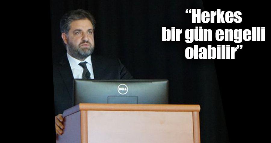 Emin Önen'den 'Engelliler Günü' mesajı