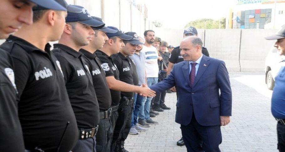 Emniyet Genel Müdürü Aktaş Suriye sınırında