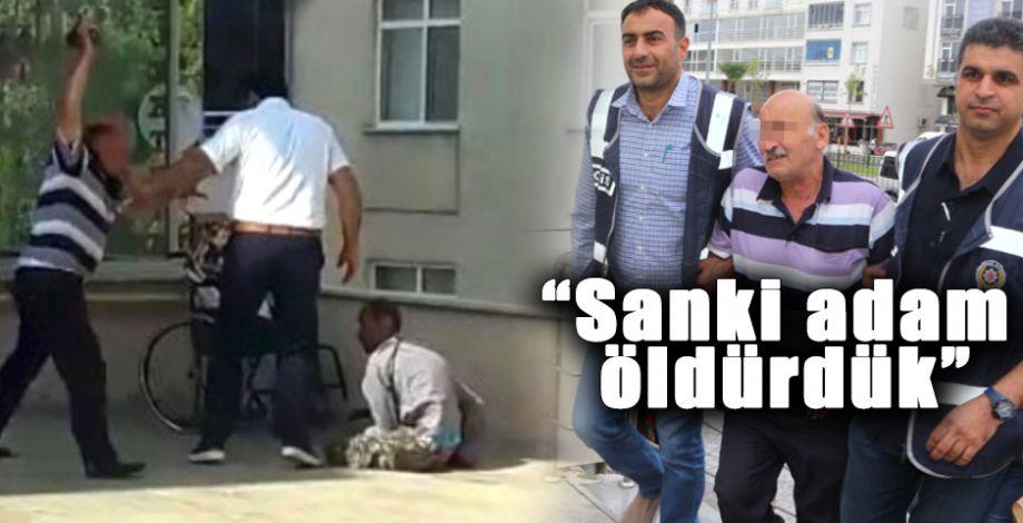 Engelli oğlunu döven babadan skandal ifade!