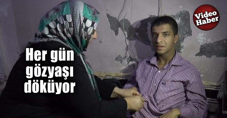 Engelli olduğu için servislerin almadığı Urfalı Mustafa, yardım bekliyor